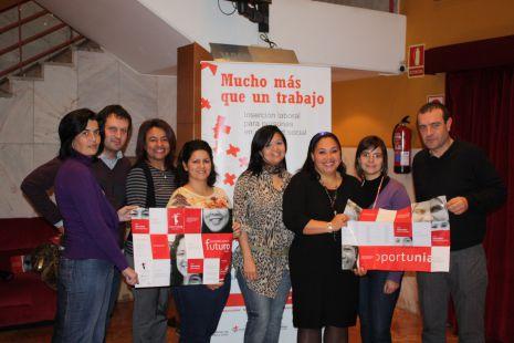 Presentación Proyecto Oportunia de Cruz Roja en Valladolid