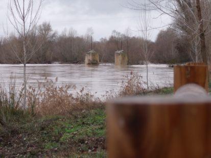 el molino y el rio duero