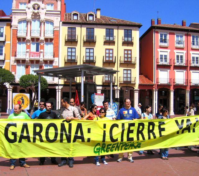 Manifestación 09-Abril-2011 GAROÑA ¡CIERRE YA!.