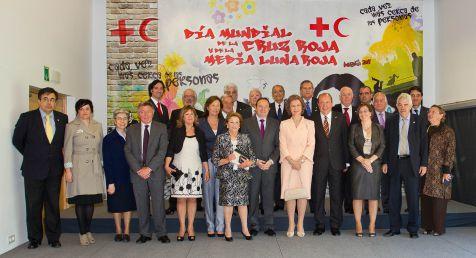 .M la Reina Dña. Sofía ha presidido en Logroño la celebración del Día Mundial de la Cruz Roja y de la Media Luna Roja