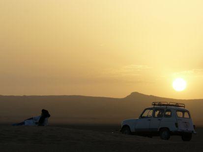 Mi 4L en el Sahara 1