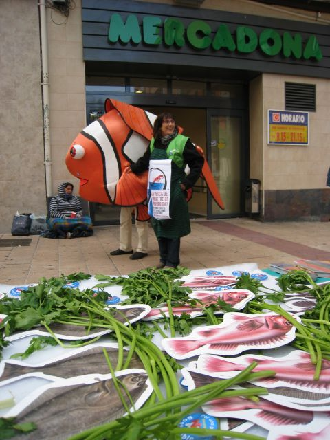 Hasta los peces protestan