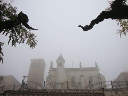 Niebla en Tordesillas