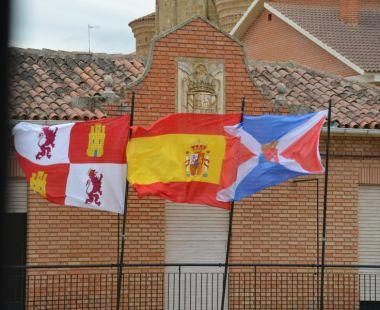 bandera oficial de Santervas de Campos