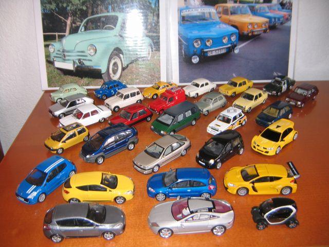 Coleccion de coches RENAULT