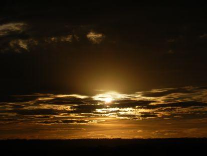 Atardecer de Nubes