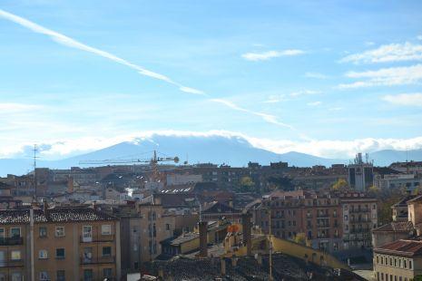 Nubes en Navacerrada
