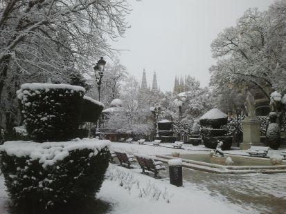 Nevada en Burgos