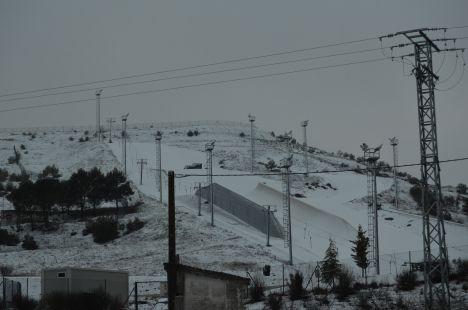 nevada pista de Villavieja