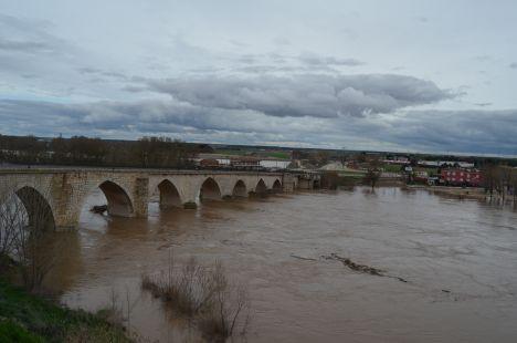Crecida Río Duero Tordesillas