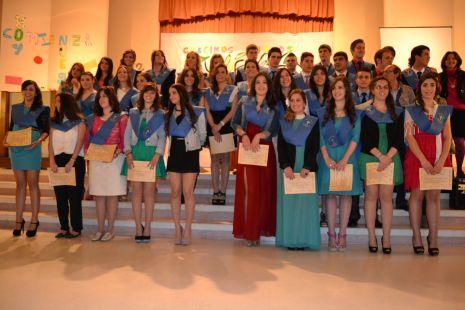 Graduacion de Bachiller Colegio HH Angélicas  (Palencia)
