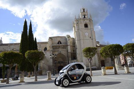 Catedral de Palencia y Twizy