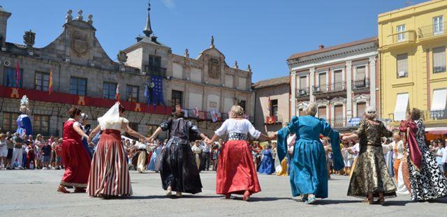 Danza Renacentista en la Plaza Mayor