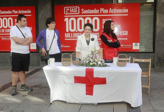 Día de la banderita en Palencia