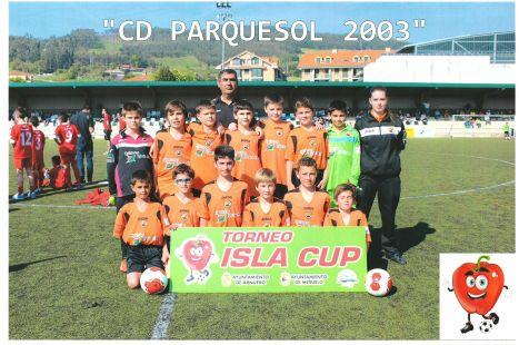 C.D PARQUESOL SUBCAMPEONES DE ISLA CUP