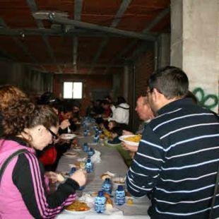 Paella solidaria en Cuéllar