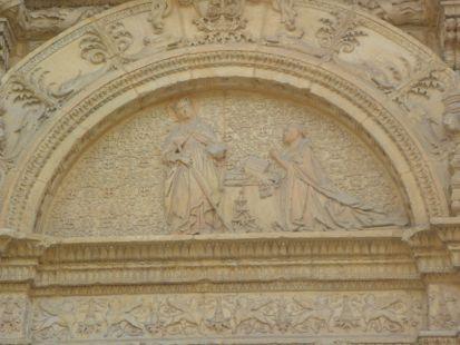 entrada del palacio