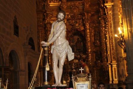JESUS ATADO A LA COLUMNA