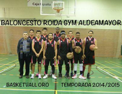 Baloncesto Roida Gym Aldeamayor