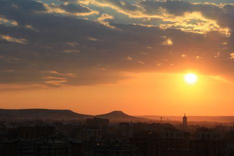 Amanecer en Valladolid