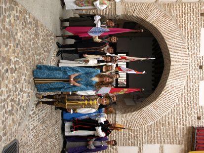 Recivimiento a los infantes en el Palacio Real