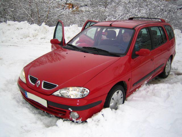 A la nieve!