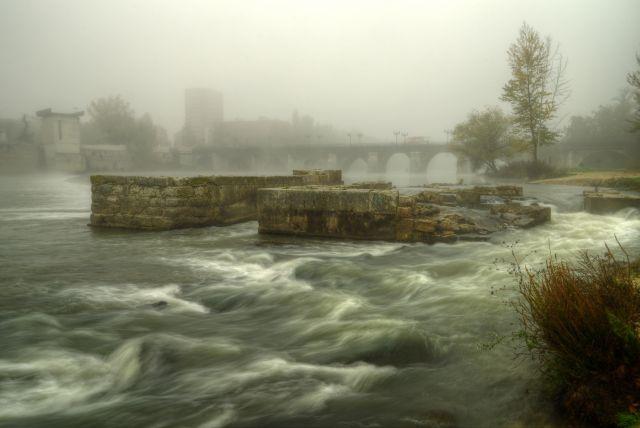 El Pisuerga y la Niebla