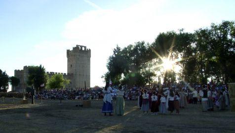 De fiesta en el castillo