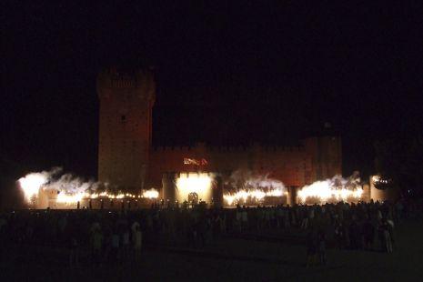 Arde el Castillo