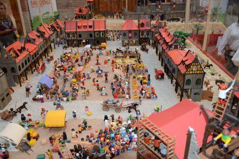 foto de control: dioorama de playmobil
