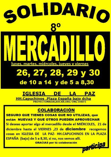 8º MERCADILLO SOLIDARIO-PROYECTO MADAGASCAR
