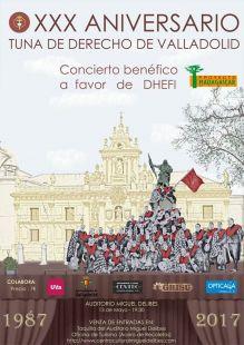 CONCIERTO BENEFICO XXX TUNA DE DERECHO DE VALLADOLID
