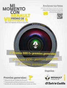 VII PREMIO DE FOTOGRAFÍA 'MI MOMENTO CON RENAULT' - BASES