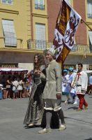 Isabel y Alfonso en la Feria de Medina