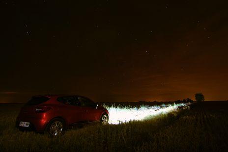 Con el Clio viendo estrellas