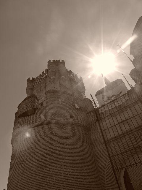 Medio día en el castillo