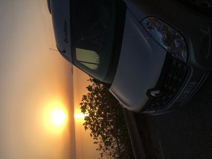 Puesta de sol perfecta