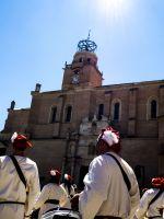 Tamborrada en Plaza Mayor