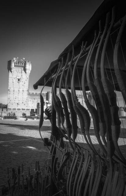 Al castillo con arcos