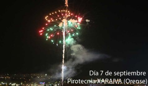 Fuegos artificiales 07/09/2017