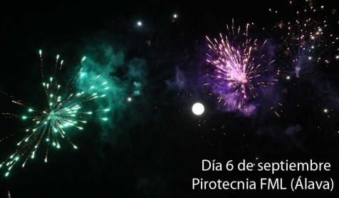 Fuegos artificiales 06/09/2017