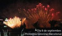 Fuegos artificiales 08/09/2017