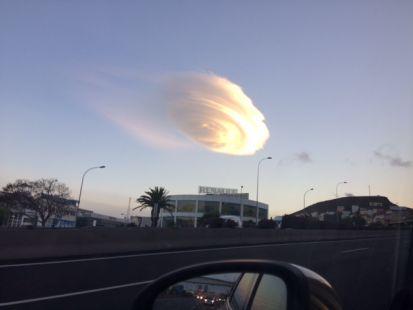 OVNI sobre Arisa Tenerife