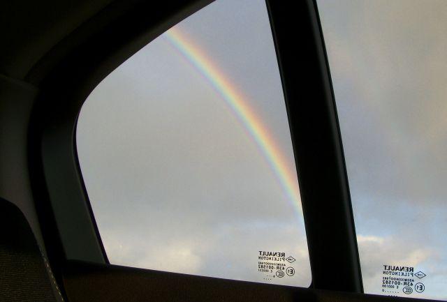 Viajando con el arco iris